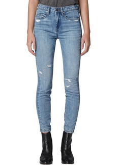BLANKNYC The Bond Distressed Jeggings (Hybrid)