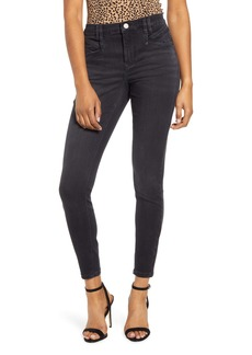 BLANKNYC The Bond Pocket Detail Ankle Skinny Jeans (Blackin Out)
