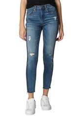 BLANKNYC The Bond Ripped Side Zip Skinny Jeans (Jersey Girls)