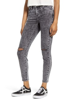 BLANKNYC The Great Jones Acid Wash Ripped Skinny Jeans (Ashes to Ashes)