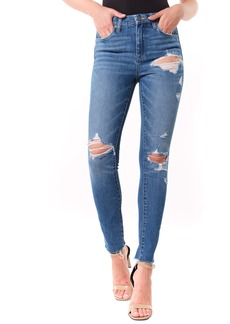 BLANKNYC The Great Jones Ripped Ankle Skinny Jeans (Santa Fe)
