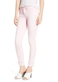 BLANKNYC The Reade Classic Raw Hem Skinny Jeans