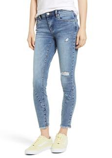 BLANKNYC The Reade Seam Detail Skinny Jeans (Burn Notice)