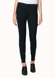 BLANKNYC The Reade Side Zip Skinny Jeans (Night Mania)