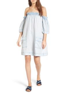 BLANKNYC Tiny Dancer Off the Shoulder Dress