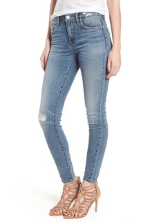 BLANKNYC Trip Switch Distressed Skinny Jeans