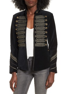 BLANKNYC Velvet Band Jacket