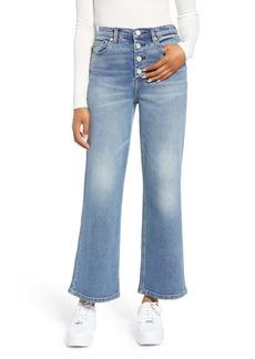 BLANKNYC Wide Leg Crop Jeans (Wall Street)