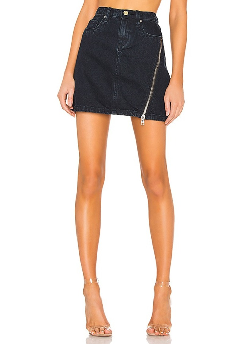 BLANKNYC Zipper A-Line Skirt