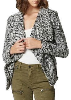 Blank Boucle Knit Wool-Blend Jacket