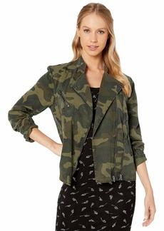 Blank Camouflage Printed Tencel Lightweight Jacket