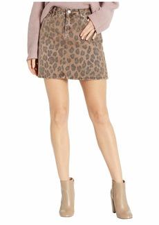 Blank Cheetah Printed Mini Skirt in Catwalk