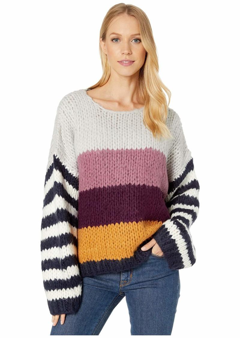 Blank Chunky Multicolor Stripe Sweater