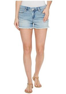 Blank Cut Off Denim Shorts in Play It Up