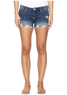 Blank Denim Cut Off Shorts in Shake It Out