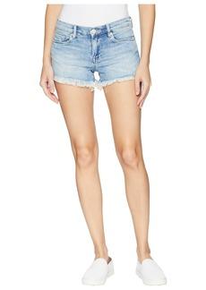 Blank Denim Cut Off Shorts in Sleep It Off