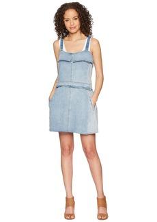 Blank Denim Dress in Netglow