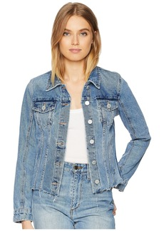 Blank Denim Jacket in Traffic Jam
