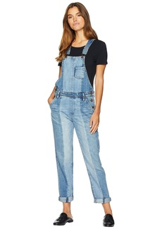 Blank Denim Overalls in King Pin