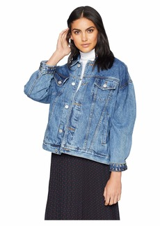 Blank Denim Trucker Jacket in Rebel Without A Cause