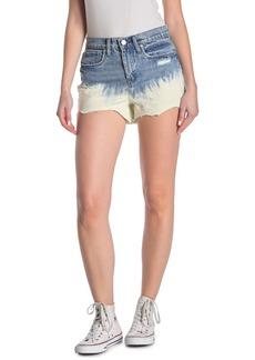 Blank Dip Dye High Waisted Jean Shorts