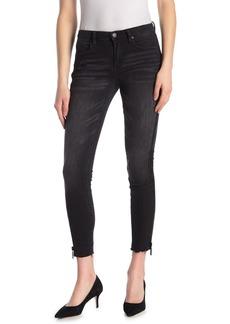 Blank Distressed Side Embellished Skinny Jeans
