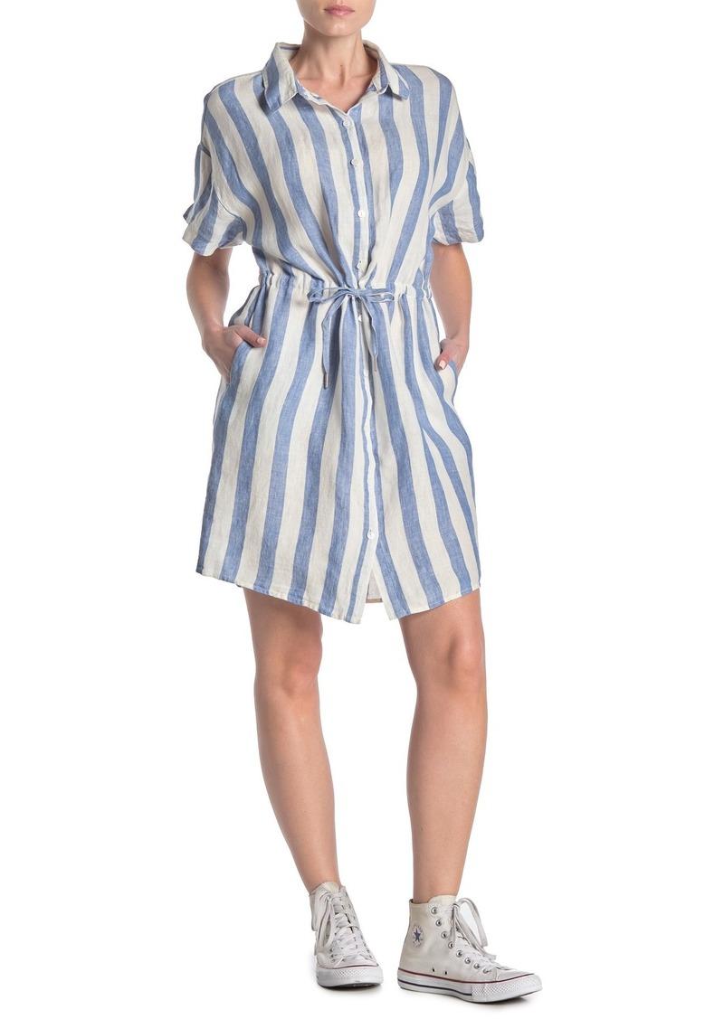 Blank East Hampton Striped Shirt Dress