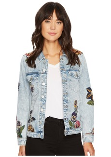 Blank Embroidered Denim Jacket in Flight Song