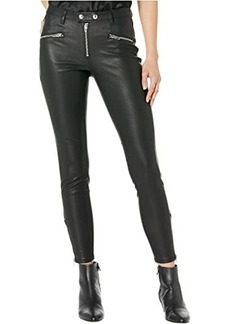 Blank Faux Leather Pants