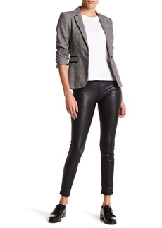 Blank Faux Leather Pull-On Leggings