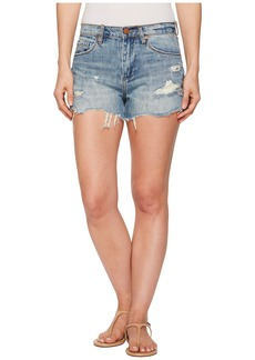 Blank Hi Rise Cut Off Shorts in Panic Prevention