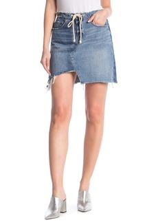 Blank High Rise Asymmetrical Skirt