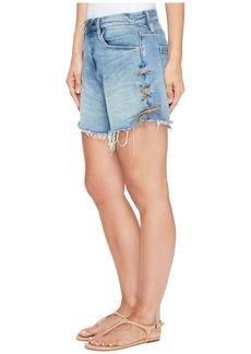 Blank High-Rise Denim Shorts in Mind Mischief