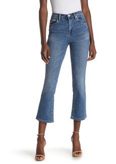 Blank High Rise Flare Leg Crop Jeans