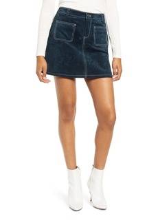 Blank High Rise Mini A-Line Skirt