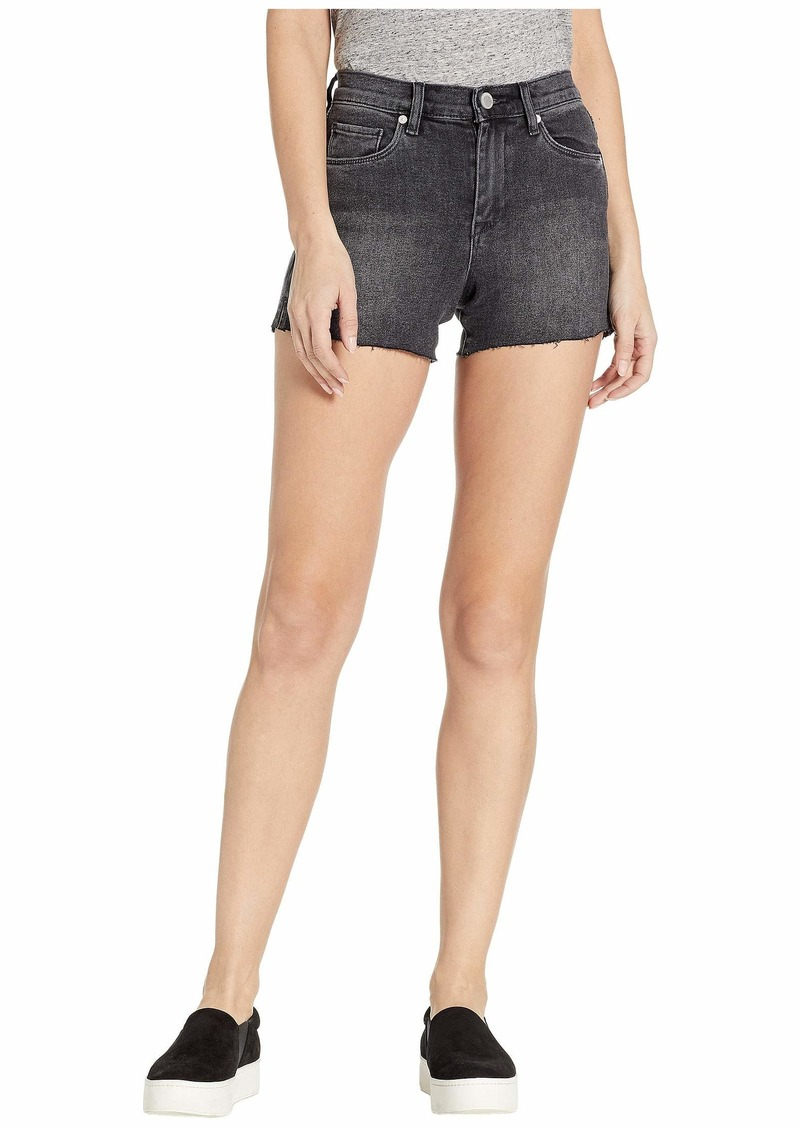 Blank High-Rise Shorts in Before & After