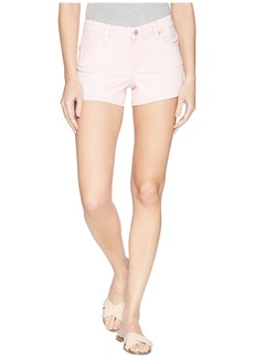 Blank High-Rise Shorts in Millennial Pink
