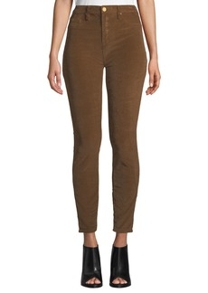 Blank High-Rise Skinny Corduroy Pants