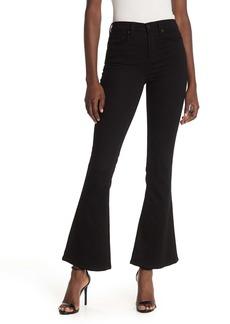 Blank High Waisted Flare Leg Jeans