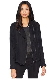 Blank Jacket with Zipper Detail in Lunch Break