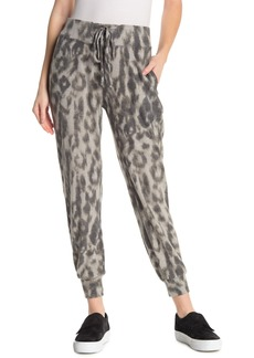 Blank Leopard Printed Joggers