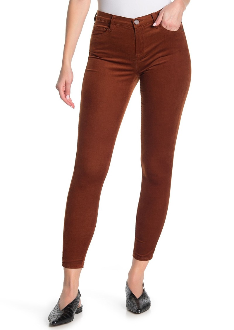 Blank Mid Rise Skinny Jeans