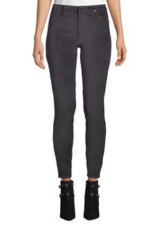 Blank Moonglow Velvet Skinny Pants