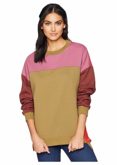 Blank Multicolored Sweatshirt in Boozy Rainbow
