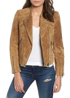Blank No Limit Suede Moto Jacket