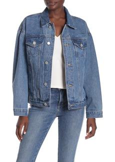 Blank Oversize Denim Jacket