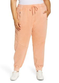 Plus Size Women's Blanknyc Garment Dyed Cotton Joggers
