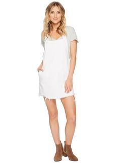 Blank Raw Edge Skirtall in Lightbox White
