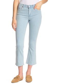 Blank Raw Hem Kick Flare Jeans