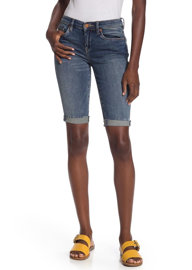 Blank Rolled Bermuda Shorts